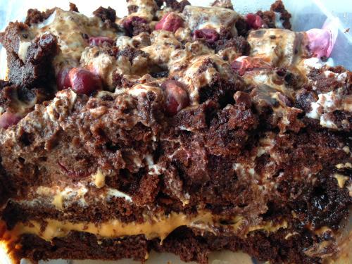 вегетарианский торт на кипятке