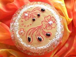 творожный торт без яиц