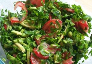 салат, сыроедение