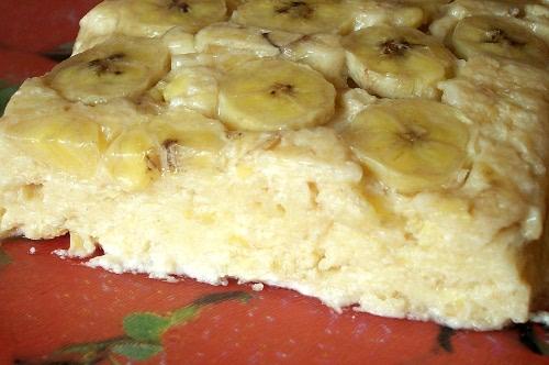 Банановая творожная запеканка в духовке рецепт с пошагово в