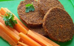 морковные котлеты по-сыроедчески