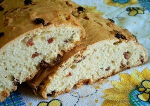 бездрожжевой сладкий хлеб