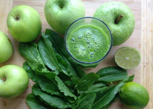 сыроедение, зеленый коктейль