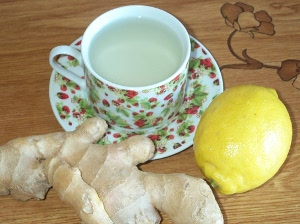 имбирный чай в пароварке