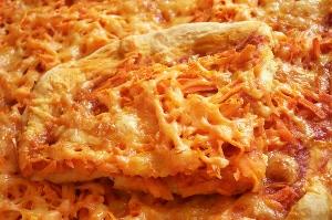 быстрая вегетарианская пицца
