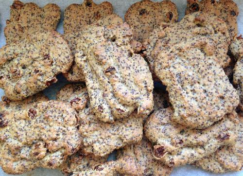 веганское маковое печенье