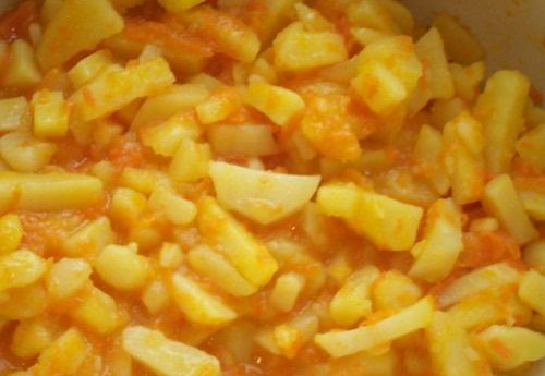 картофель к экадаши