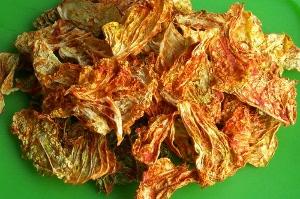 сыроедные чипсы