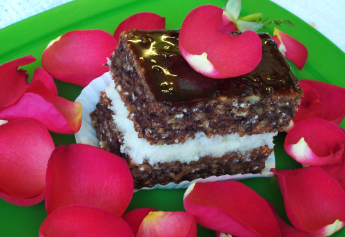 веганский торт с кокосом