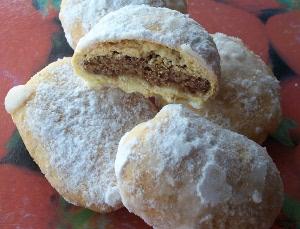 вегетарианское печенье из манной крупы