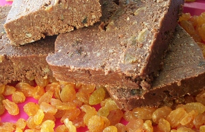 сыроедный шоколадный щербет
