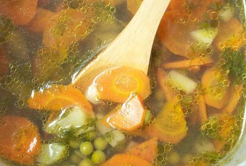 суп в пароварке